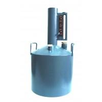Мерник М2Р-10-0 без пеногасителя, нижний слив