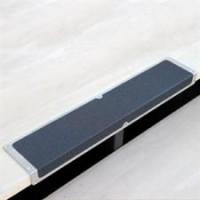 Алюминиевый профиль с противоскользящей лентой (пластина с углом) 120х45х1000